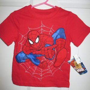 Ulitmate Spiderman Marvel Boys Red T-Shirt 12mos